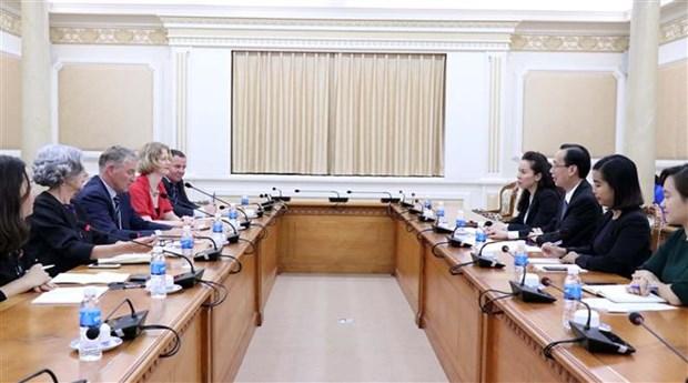 胡志明市加强与新西兰的经贸投资合作关系 hinh anh 1
