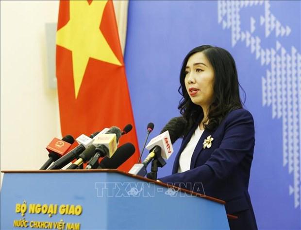 越南外交部发声:越南要求中国尊重越南对黄沙和长沙两个群岛的主权 hinh anh 1