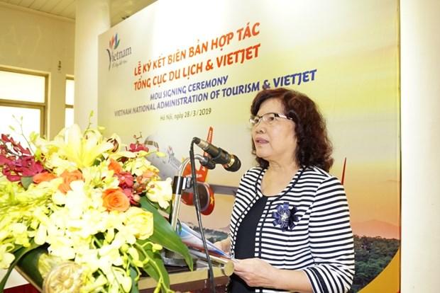 越捷航空公司与旅游总局签署关于旅游的合作备忘录 hinh anh 3
