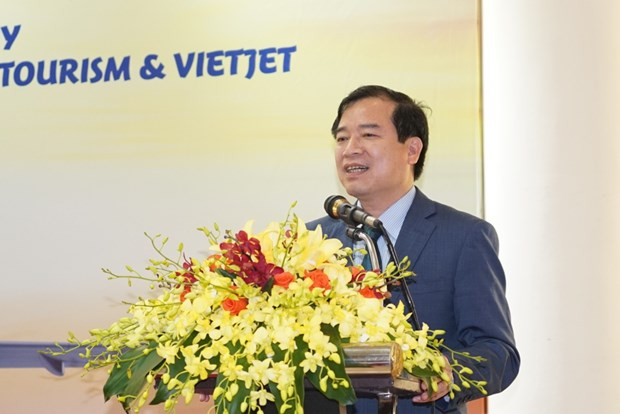 越捷航空公司与旅游总局签署关于旅游的合作备忘录 hinh anh 4