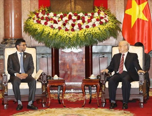 越南与阿联酋加强经贸与能源等领域合作 hinh anh 1