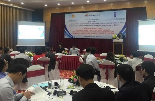 越南对反腐指数进行评估 hinh anh 1
