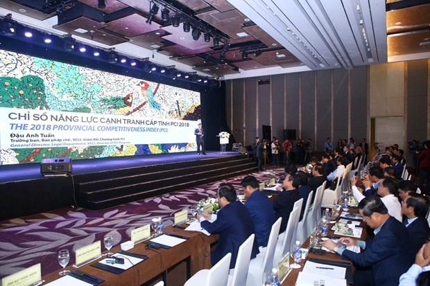 越南发布2018年省级竞争力指数 hinh anh 2
