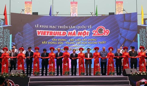 2019年越南建材及建筑机械展开幕 hinh anh 1