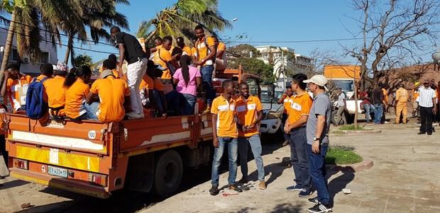 Viettel为莫桑比克台风受灾群众提供50吨粮食援助 hinh anh 1