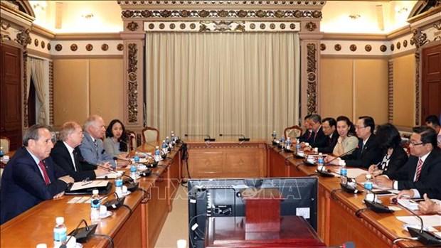 加拿大企业希望在胡志明市进行长期投资与经营 hinh anh 1