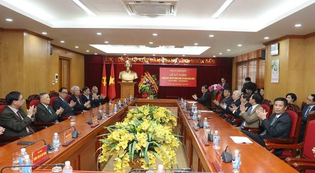 海外党建工作对祖国建设和保卫事业作出有效贡献 hinh anh 1