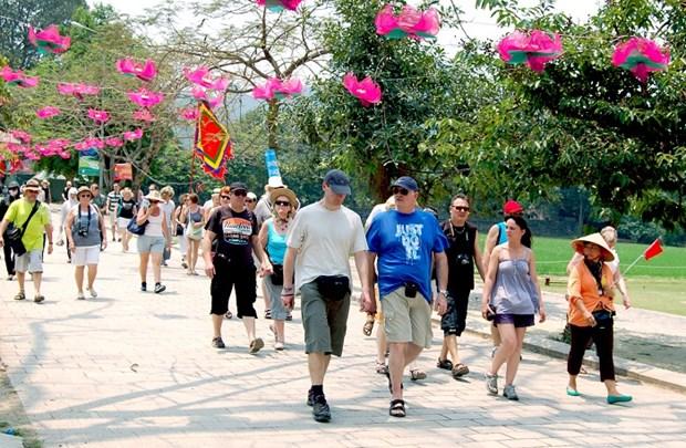 今年前3月河内游客接待量达近750万人次 hinh anh 1