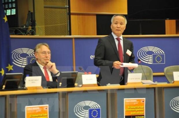 法国议员支持尽早签署和批准欧盟-越南自由贸易协定 hinh anh 1