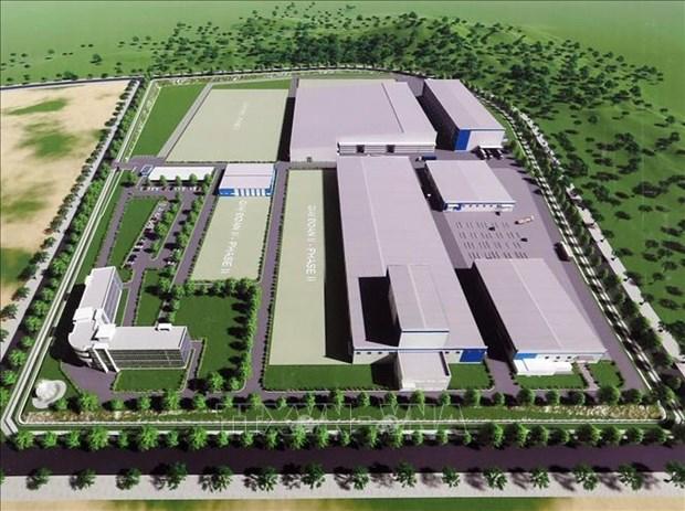 越南首家航空航天零部件制造厂正式破土动工 hinh anh 2