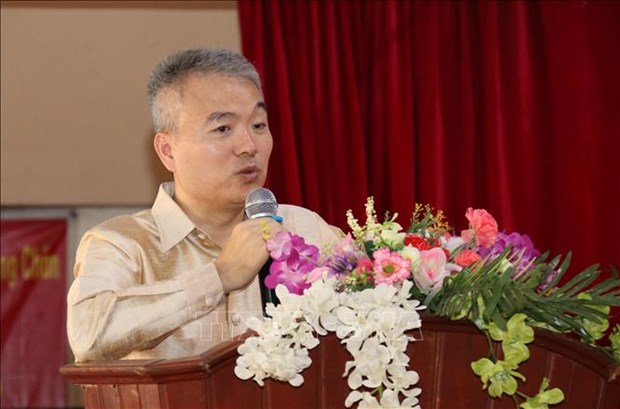 老越阮攸双语学校荣获越共中央总书记、国家主席的礼物 hinh anh 2