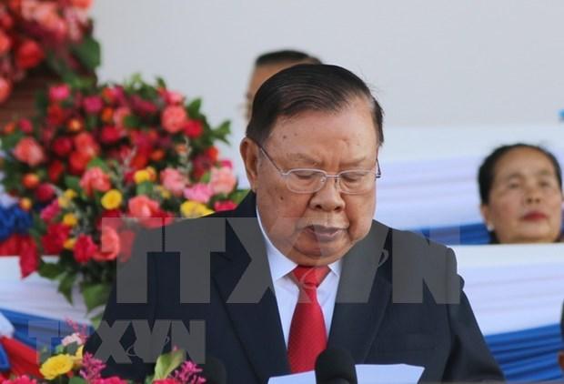 朝鲜与老挝加强合作 hinh anh 1