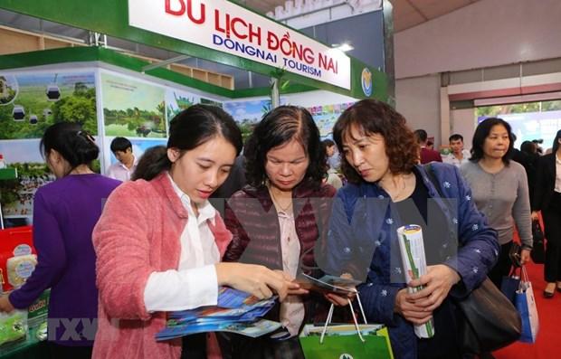 2019年越南国际旅游展吸引参观人数累计达6.5万人次 hinh anh 1