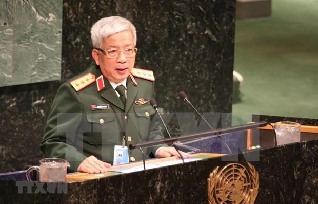 越南重申积极参加联合国维和行动的承诺 hinh anh 1