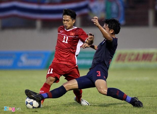 2019年越南国际U19足球赛:越南队1:0击败泰国队摘取桂冠 hinh anh 2