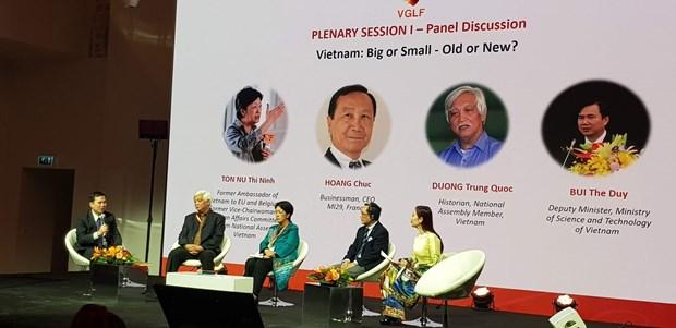 越南全球领导者论坛首次在巴黎举行 hinh anh 2