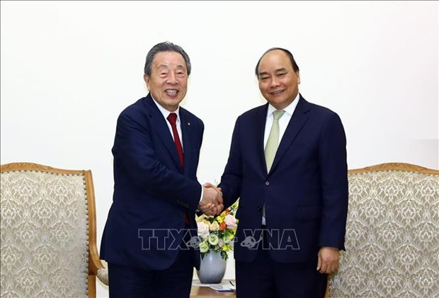 越南欢迎日本、韩国等外国投资商来越投资兴业 hinh anh 1