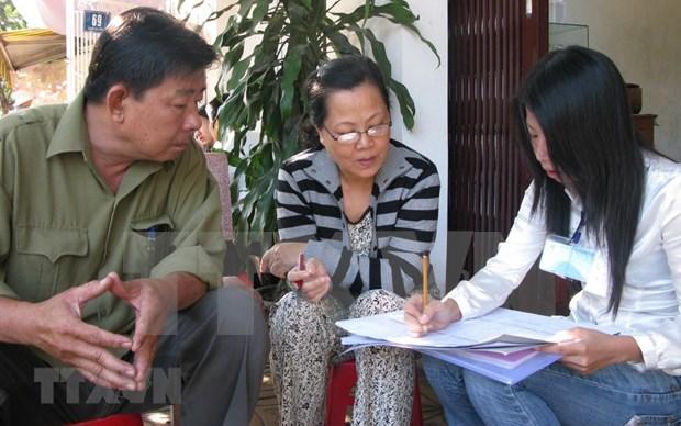 越南2019年人口和住房普查正式启动 hinh anh 1