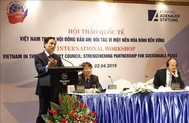 联合国安理会中的越南:致力于可持续和平的伙伴 hinh anh 2