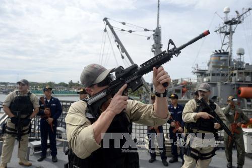菲律宾与美国开始举行联合军事演习 hinh anh 1