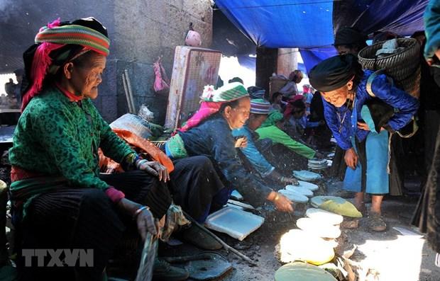 """山区集市是""""越南民族特色""""月的活动亮点 hinh anh 1"""