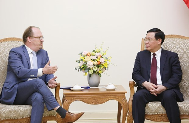 OECD考虑将有关创业的标准写入越南的国家计划 hinh anh 1
