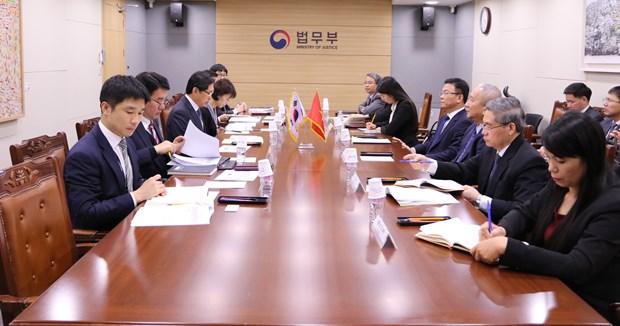 韩国与越南推动司法和立法领域的合作 hinh anh 1