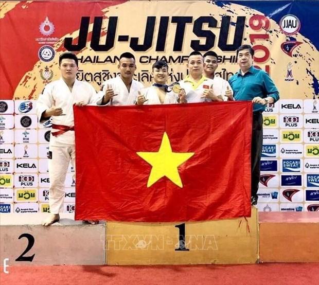 越南柔术选手在泰国柔术公开赛上夺得金牌 hinh anh 2