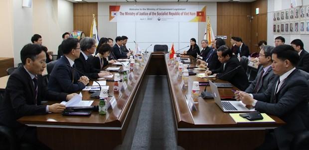 韩国与越南推动司法和立法领域的合作 hinh anh 2