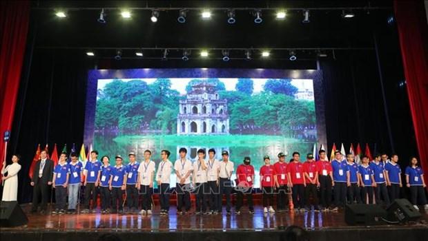 600多名学生参加2019年河内数学公开赛 hinh anh 1