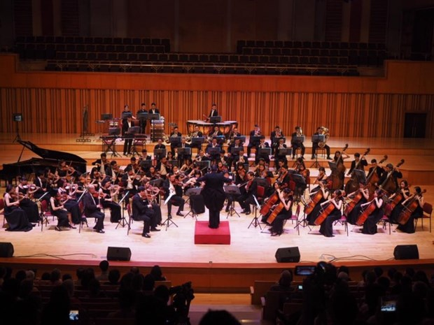 国际音乐人才在河内春季音乐会聚会 hinh anh 1