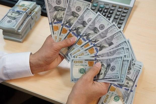 4月3日越盾兑美元中心汇率上涨7越盾 hinh anh 1