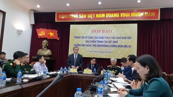 越南将继续在5省开展扫雷行动 hinh anh 1