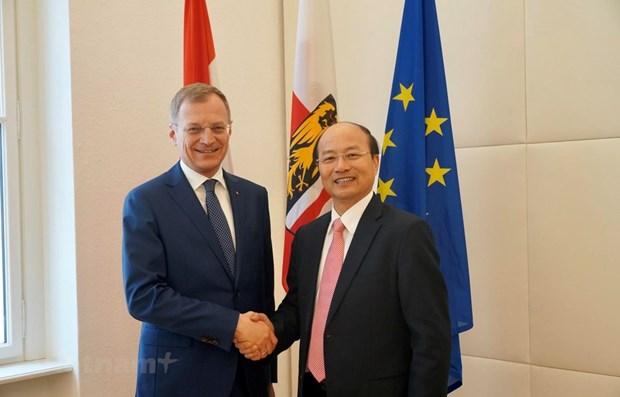 促进越南与上奥地利州经贸合作关系 hinh anh 1