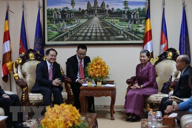 越柬合作促进宗教信仰自由 hinh anh 2