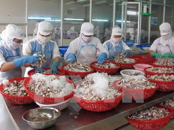 今年第一季度越南农林水产品出口下降3% hinh anh 1