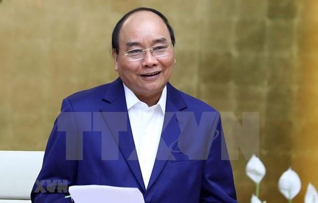 阮春福总理:实质性改善越南经商环境是经济增长的最重要动力 hinh anh 1