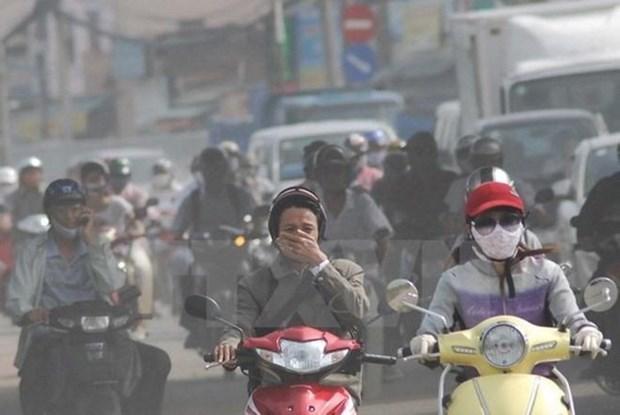 通过GAINS模型解决河内市空气污染问题 hinh anh 1