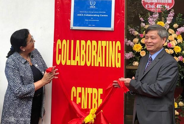 国际原子能机构与越南原子能研究所强化水与环境合作 hinh anh 1