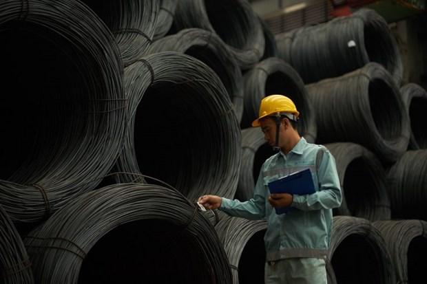 和发集团钢材销售量增长一倍多 hinh anh 1