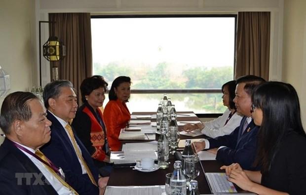 越南与泰国促进东盟合作框架内的财政合作 hinh anh 1