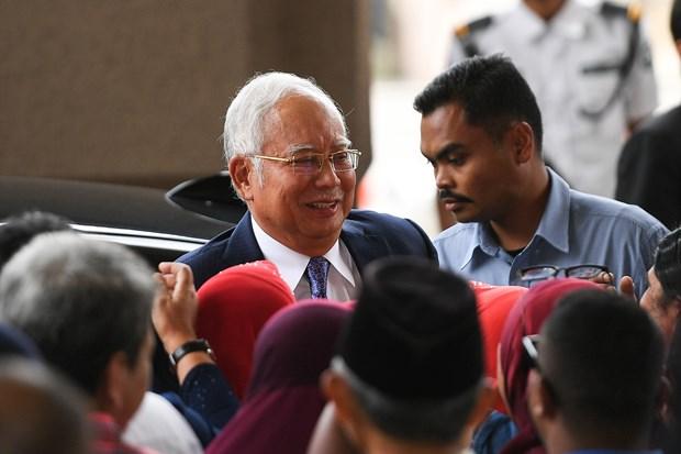马来西亚前总理纳吉布涉嫌贪腐案件开审 hinh anh 2