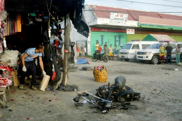 菲律宾南部一餐馆遭爆炸袭击 许多人受伤 hinh anh 1