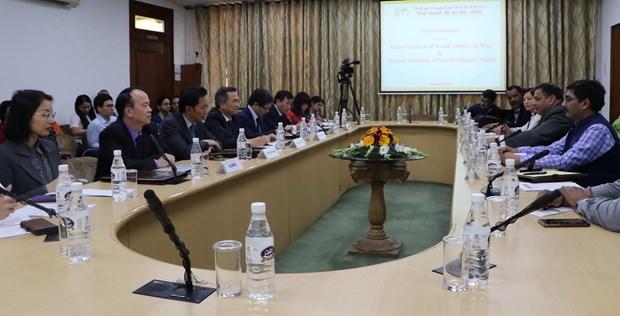 越南与印度举行第二次高级别学术对话 hinh anh 1