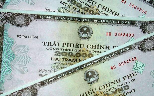 越南发行政府债券:本周筹集资金1.55万亿越盾 hinh anh 1