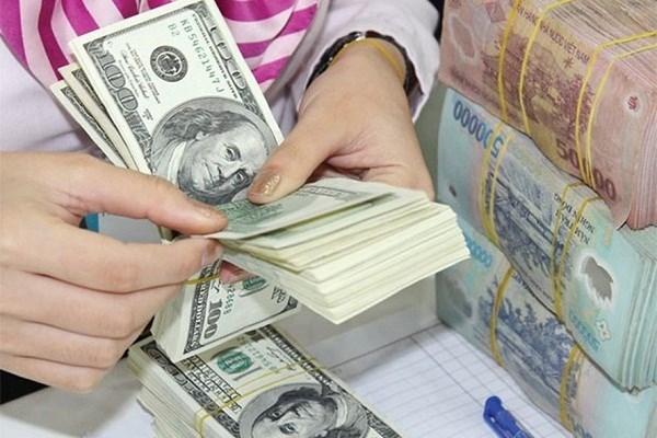 4月5日越盾兑美元中心汇率上涨10越盾 hinh anh 1