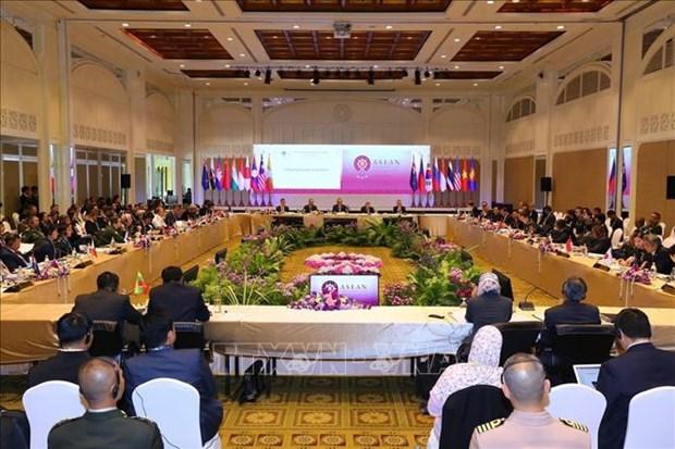 东盟国防高级官员扩大会议(ADSOM+) 2019:加强东盟与各伙伴国的务实合作 hinh anh 1