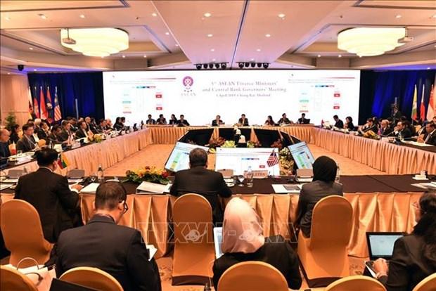 东盟大力支持经济增长和加强区域金融稳定 hinh anh 1