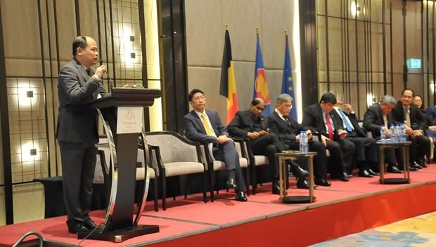越南出席2019东盟贸易投资论坛 推介越南投资商机 hinh anh 1
