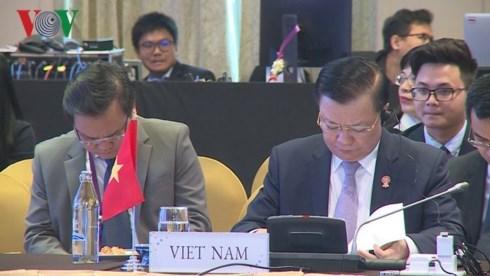 第23届东盟财长会议在泰国开幕 hinh anh 1